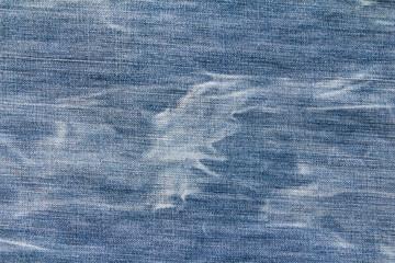 Blue denim jean pattern texture background