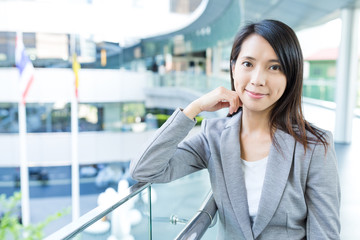 Young asian business woman portrait