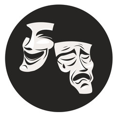 theater masks comedy and drama