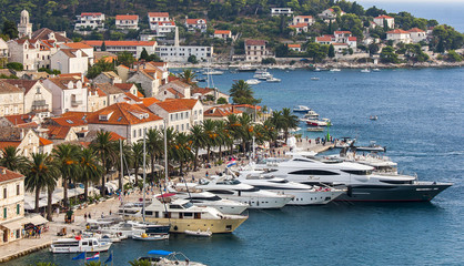 Nice City Hvar in Hvar Island in Croatia