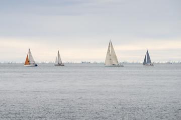 sea yachts racing