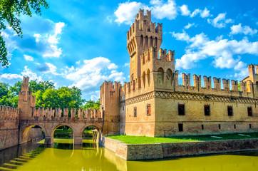Bologna castle Minerbio