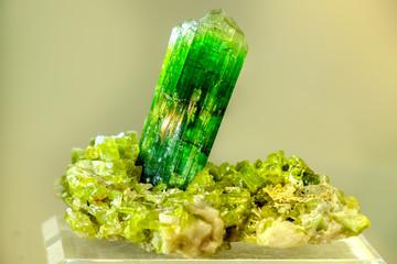 tourmaline green mineral