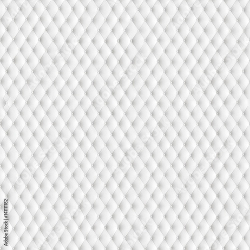 Seamless Texture Upholstery White Leather Sofa