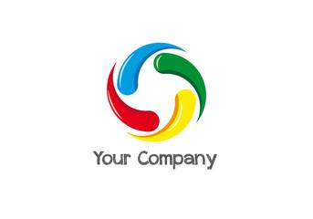 Logo business aziendale spirale