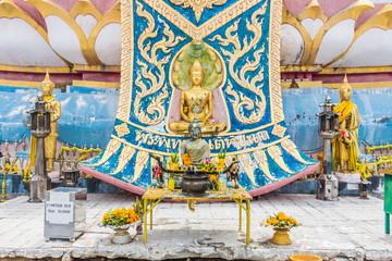 Sacrificial Altar at Big Buddha Temple Koh Samui