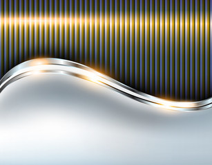 Elegant metallic background, shiny vector design.