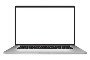 laptop isolated on white background - Vector illustration