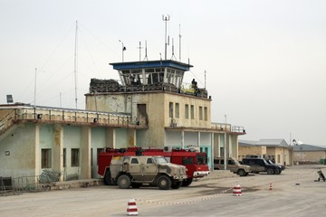 Airfield in Kunduz - Afghanistan