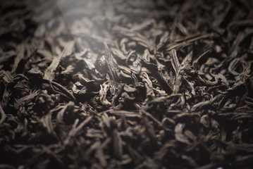 black tea closeup