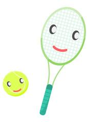 テニス イメージ 擬人化