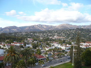 Views on Santa Barbara, California