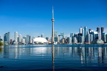 Photo sur Toile Toronto Toronto Skyline, Canada