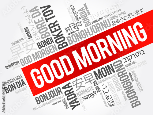 Good Morning In Many Languages : Quot good morning in many languages multilingual word cloud
