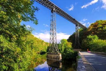 Viaduc de Rouzat in Frankreich - Viaduc de Rouzat in France, a famous bridge in Europe