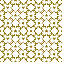 Abstract seamless oriental pattern