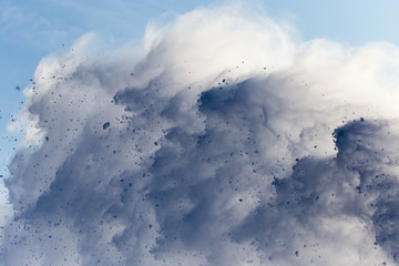 avalanche as background