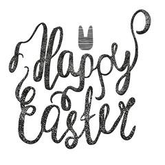 Hand written Easter phrase.