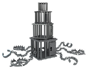 Metal Cage Stack