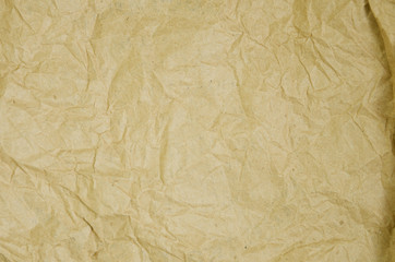 crumpled old paper, background