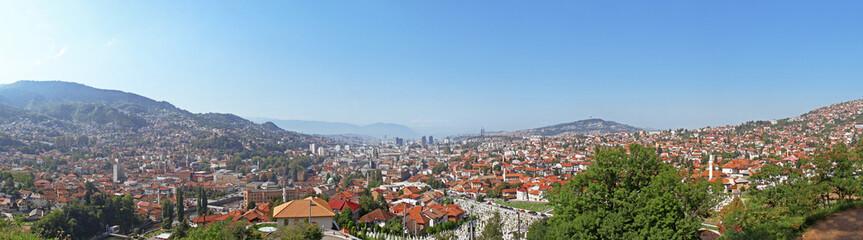 Panorama Sarajevo - Bosnia and Herzegovina