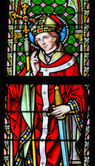Stained Glass - Saint Eugenius