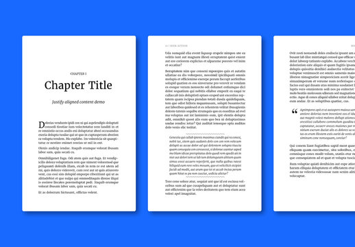 Classic Book Layout for ePub