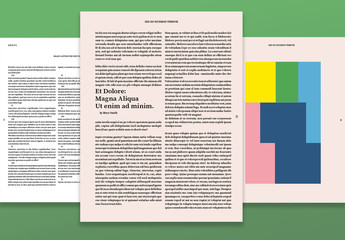 Art and Culture Magazine Layout