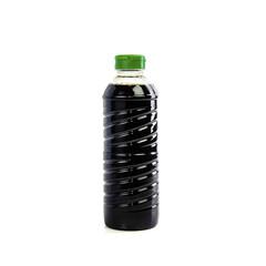 sauce bottle isolated on white background