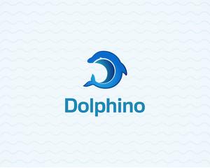 Dolphin Logo innovative and creative inspiration business company