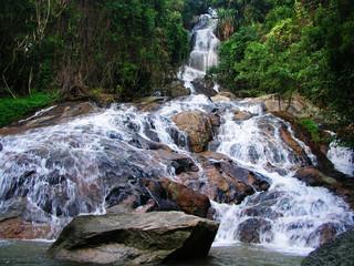 Namuang 2 waterfall, Koh Samui, Thailand
