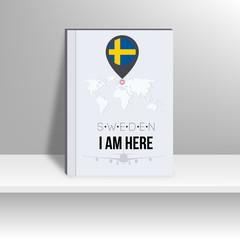 World Map and Famous Landmark. vector, illustration design.