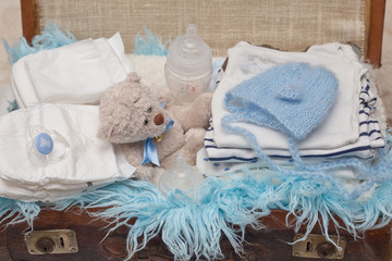 Layette for newborn baby