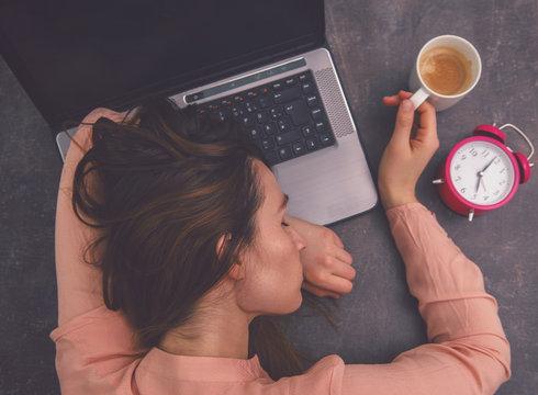 stress auf arbeit power napping