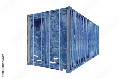 schiffscontainer stock photo and royalty free images on pic 141212119. Black Bedroom Furniture Sets. Home Design Ideas