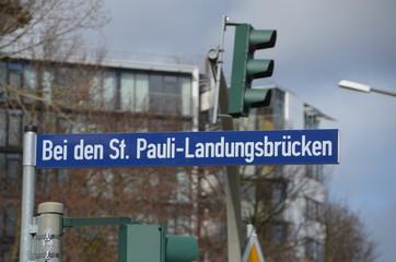 St. Pauli Landungsbrücken Hamburg