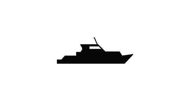 silhouette de bateau