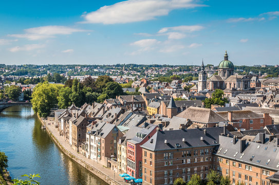 View of Namur