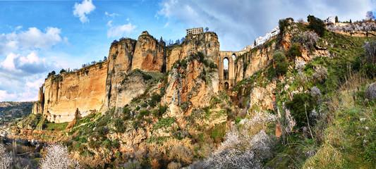 Fototapete - Ronda, Panorama
