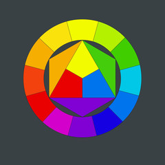 Color circle johannes itten