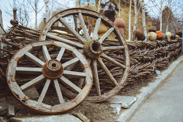 Wooden wheel, Ukraine