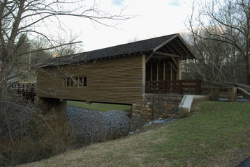Harrisburg Covered Bridge, East TN