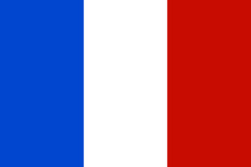 Official national flag of France
