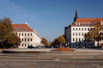 Königstraße Dresden im Herbst