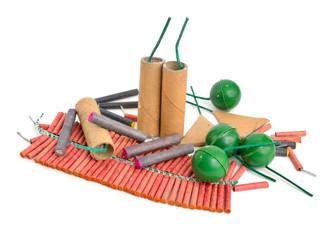 Firecracker (cracker, noise maker, banger, or bunger)