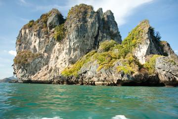 Cadres-photo bureau Cote île isolée en Thaïlande dans la mer