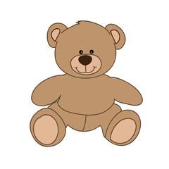 brown bear toy