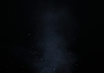 starry sky haze