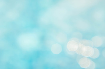 abstract green blue blur backgruond , wallpaper blue wave with sunlight bokeh texture background