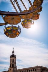 La grande roue de la Place Bellecour à Lyon